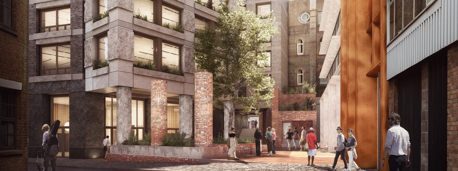 Groveworld secures approval for plans to revitalise the former home of the Royal Throat, Nose and Ear Hospital in London's Knowledge Quarter